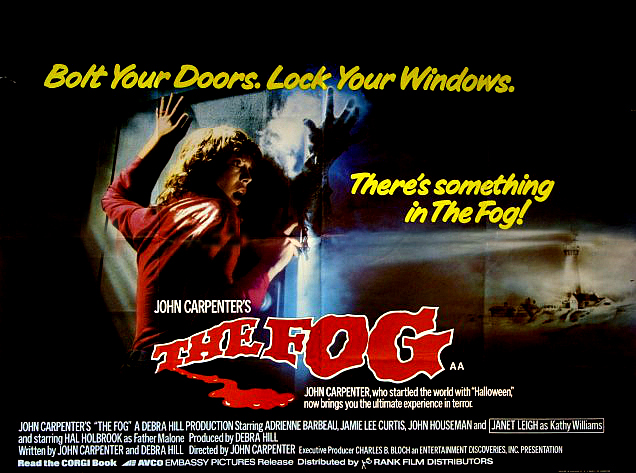 The FOG poster sheet | Terror from Beyond the Dave