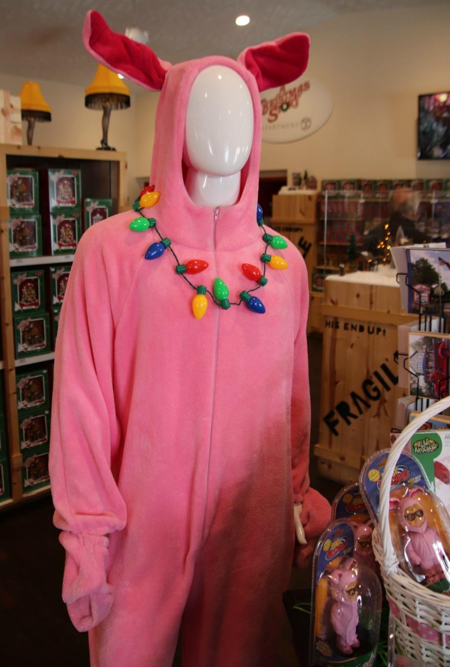 a christmas story bunny suit - A Christmas Story Bunny