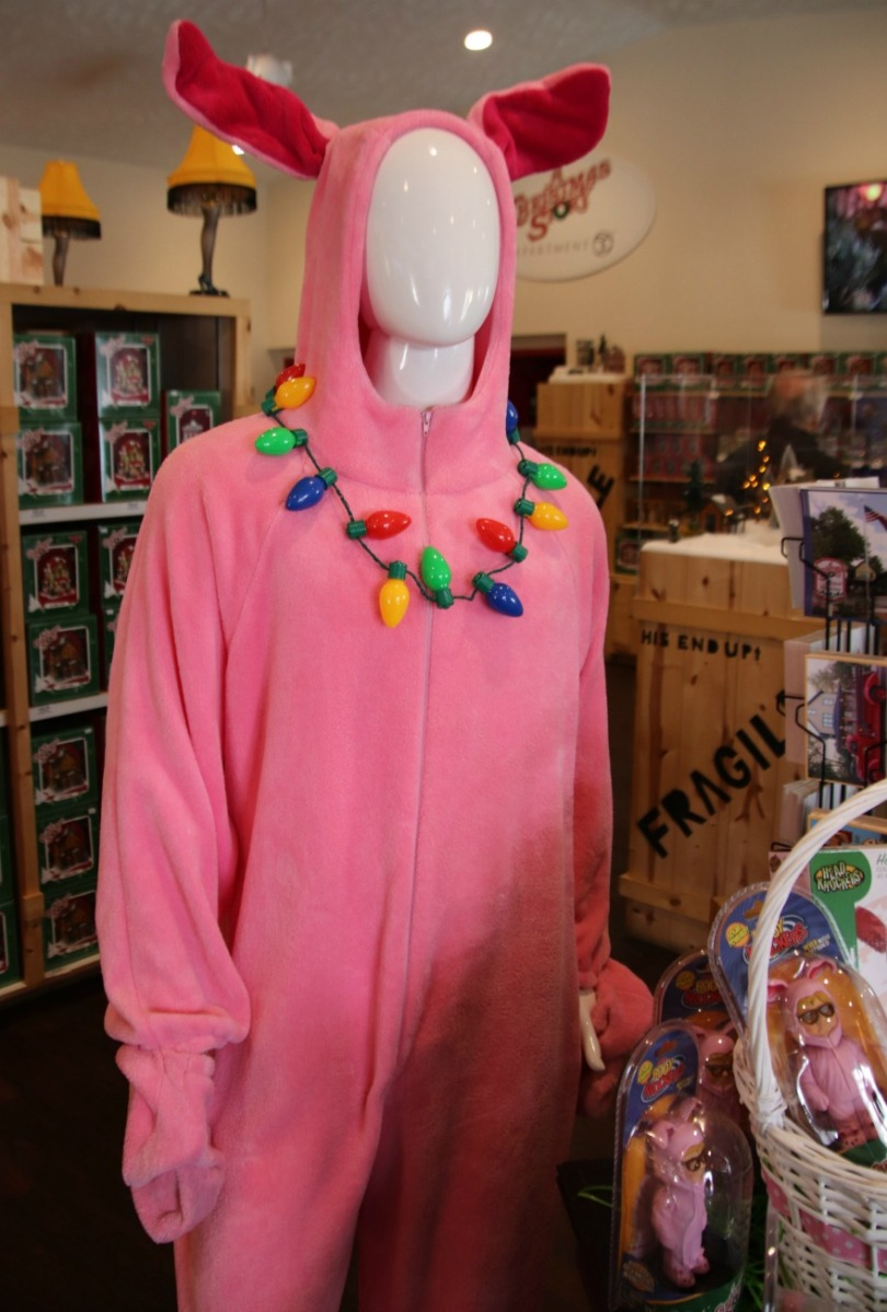 Christmas Story Bunny Pajamas.A Christmas Story Bunny Suit Terror From Beyond The Dave