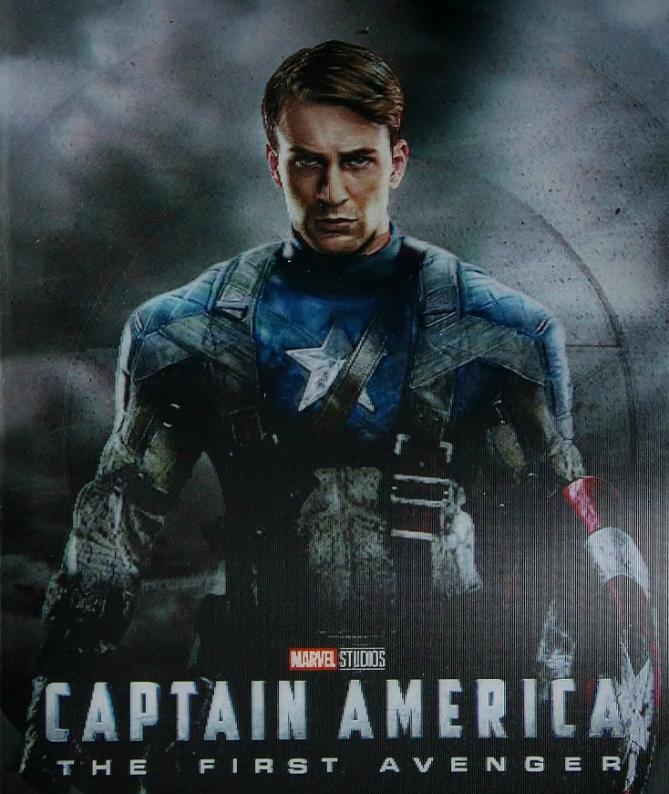 KIMCHIDVD Captain America steelbook