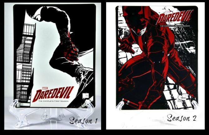 Netflix Daredevil Season 1 and 2 Steelbooks