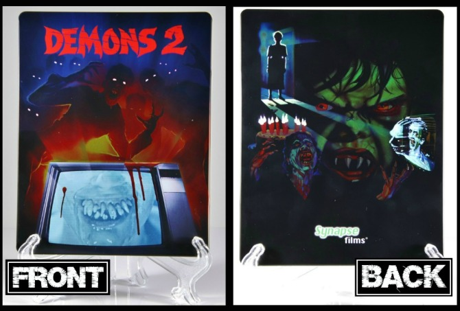 Demons 2 Steelbook front and back