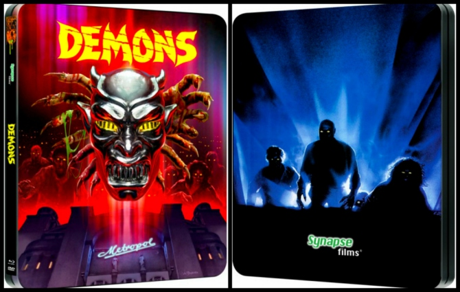 Synapse Demons Steelbook