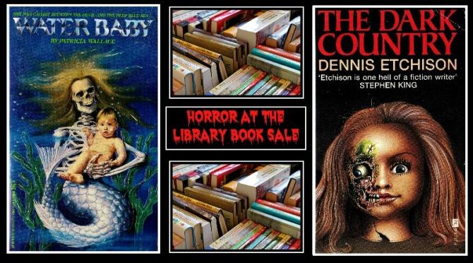 Horror paperback banner