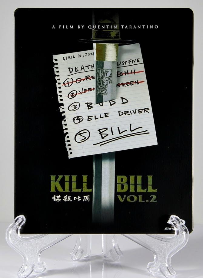 Kill Bill Volume 2 Steelbook