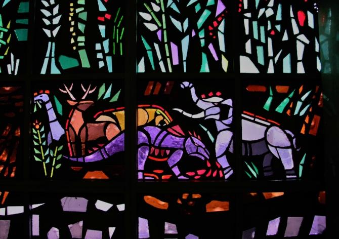 Resurrection Cemetery Dinosaurs in the Garden of Eden