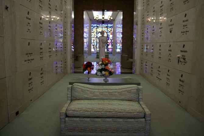 Resurrection mausoleum crypts