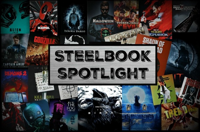 Steelbook Collection Collage