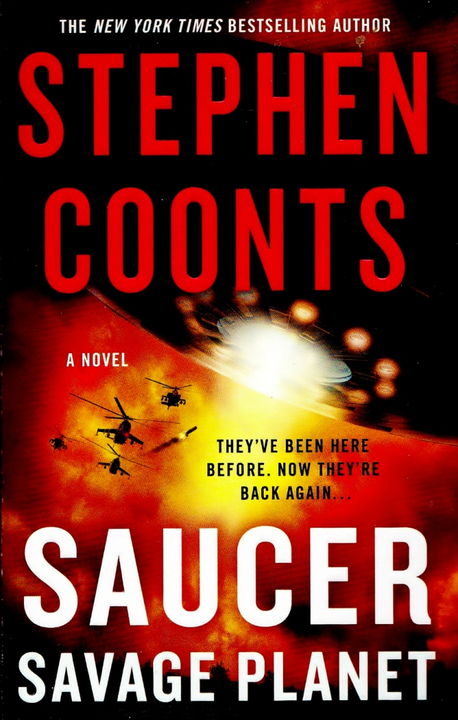 Stephen Coonts Saucer book