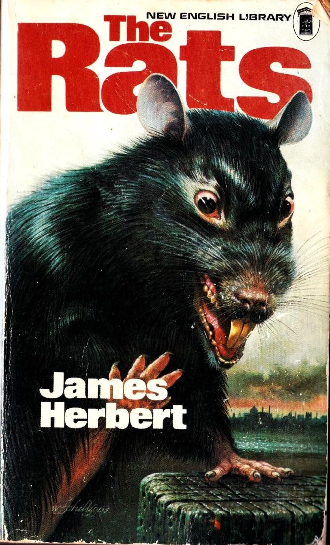 Horror paperback book