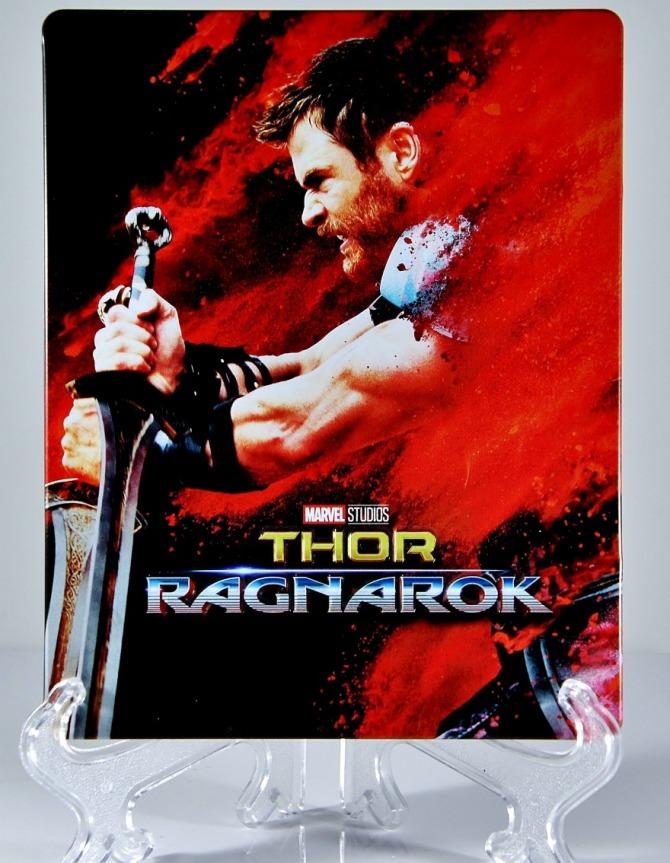 Thor Ragnarok blu-ray steelbook