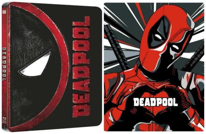 Deadpool Steelbook comparison