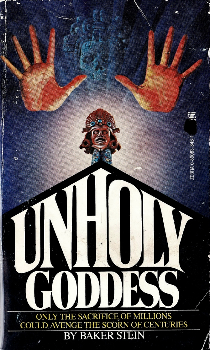 Horror paperback book cover