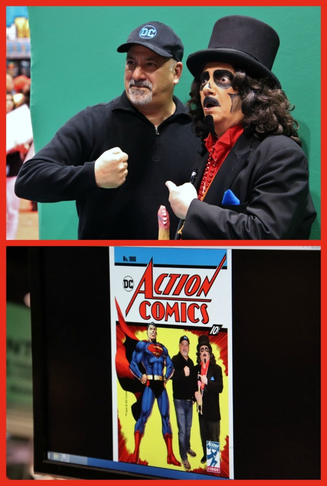 TV horror host, Svengoolie, and DC Comics publisher, Dan Didio