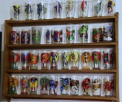 Comic Superhero Drinking Glasses