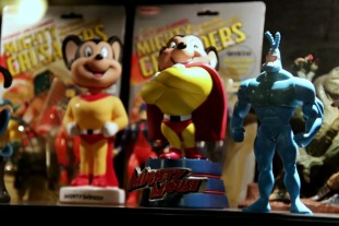 Mighty Mouse Figure