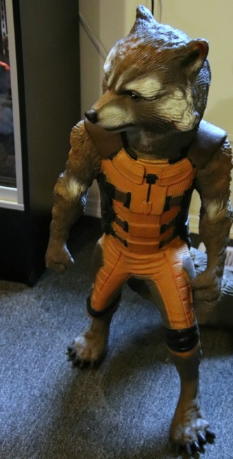 Rocket Raccoon Statue