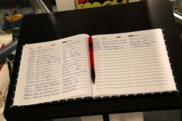 Superhero Museum Guest Book