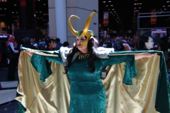 Female Loki Cosplay 1