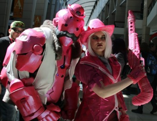 Pink Cosplay