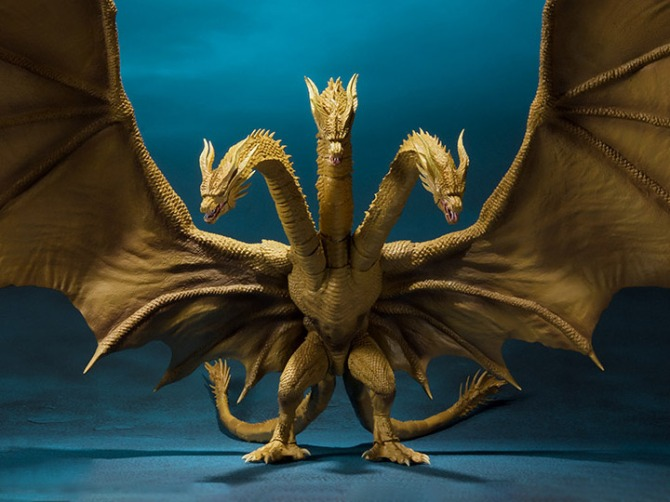 S.H. Monsterarts King Ghidorah 2019