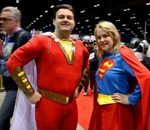 Shazam and Supergirl