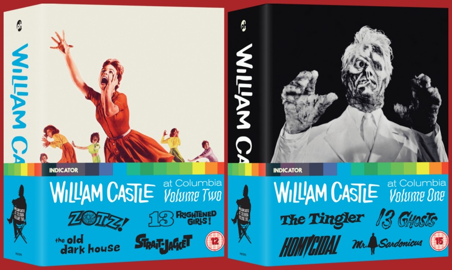 Indicator William Castle Box Sets - Volume One and Two
