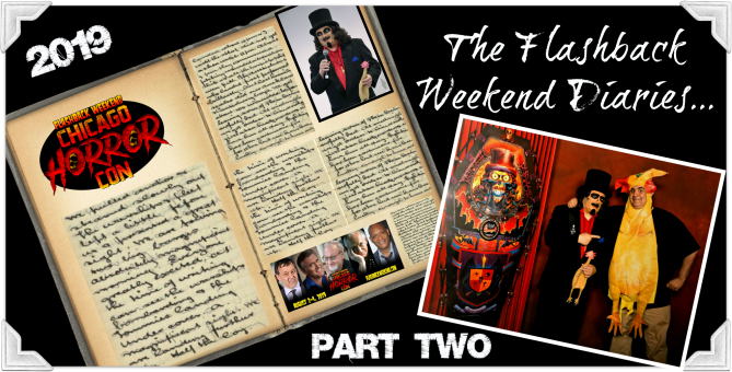 The Flashback Weekend Diaries