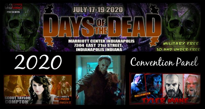"""Halloween 2020 Dave Rob Zombie """"Halloween"""" Panel at 2020 Days of the Dead! 